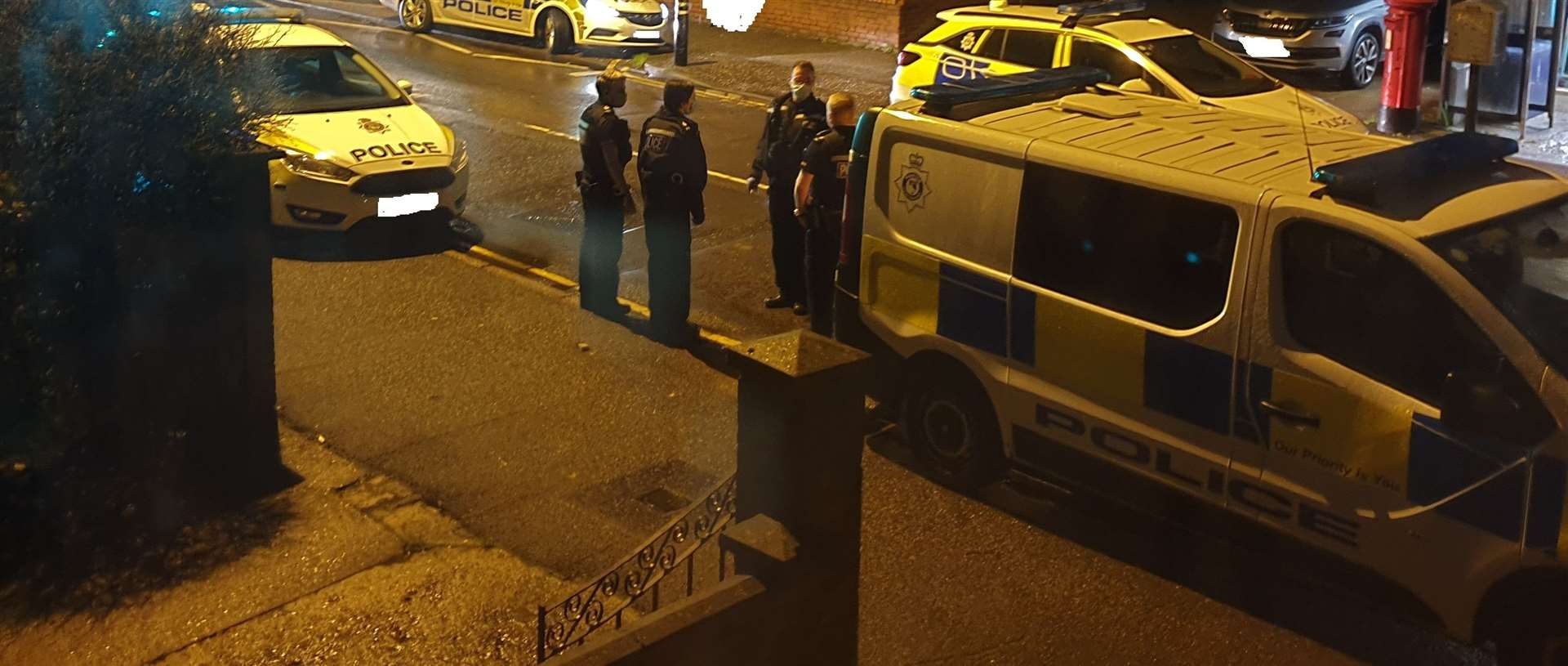 Police were called to Tennyson Avenue in Lynn last night (Monday, November 16). Picture: SUBMITTED
