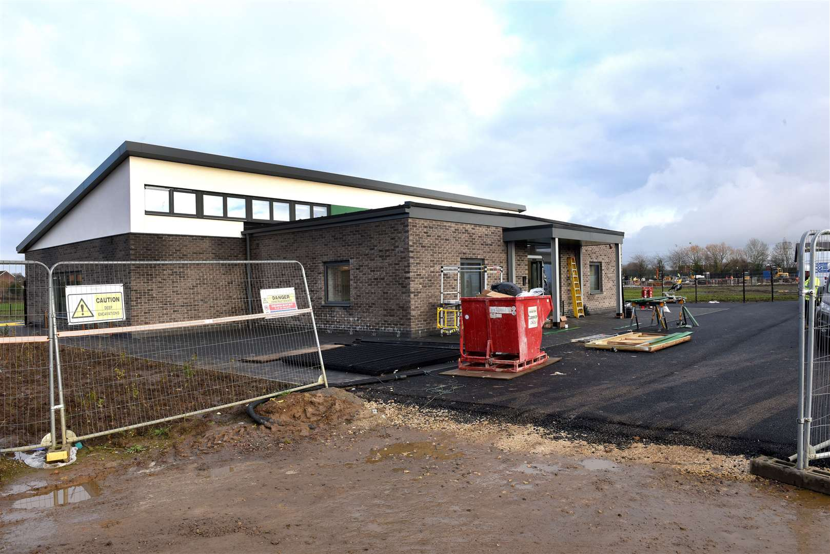 The New Greenpark Academy Site at North Lynn..The New Nursery Building nearing Completion on the same. (43487264)
