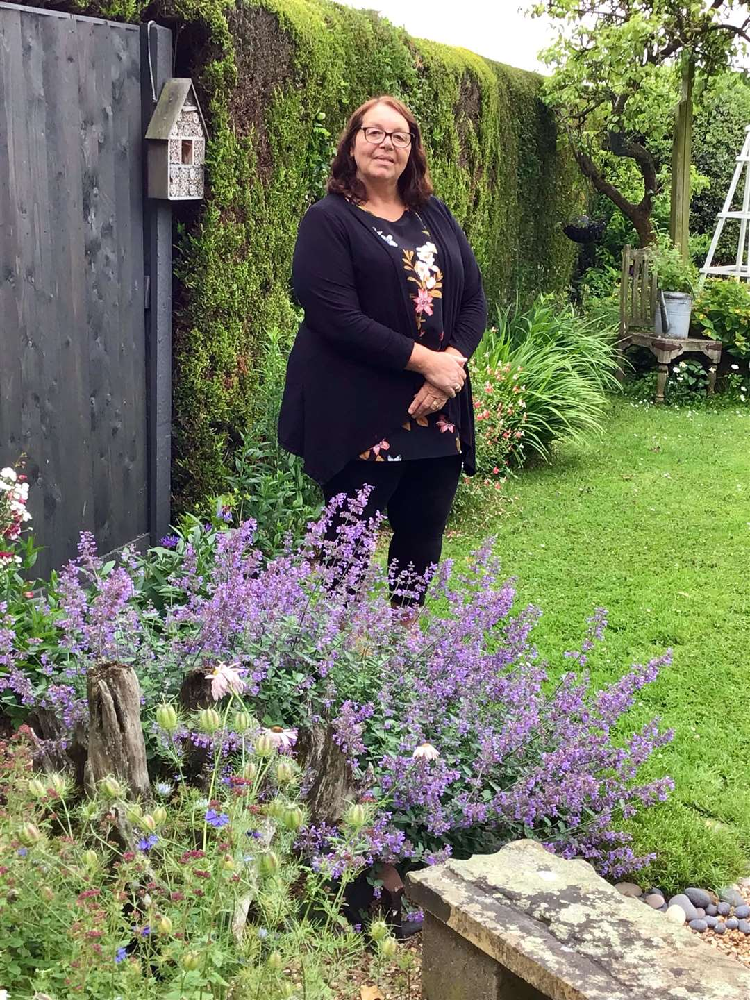 Tracey Robinson's garden inspired her to create Plants seeds and garden items swap for free Facebook group (48774152)