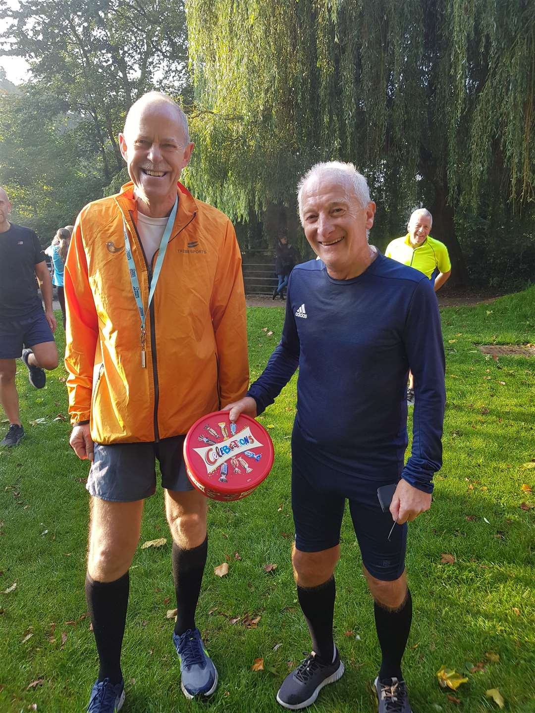 Regular parkrunner Nigel Richards, was the parkrunner who crossed the line at the milestone point. (52120619)