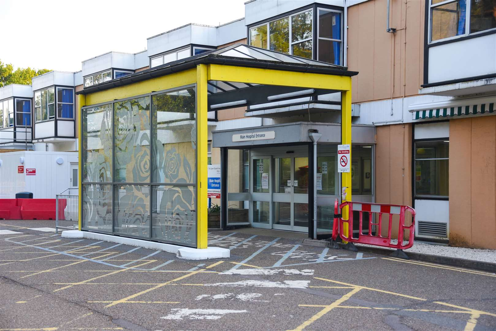The main entrance of the Queen Elizabeth Hospital in King's Lynn. Picture: Ian Burt