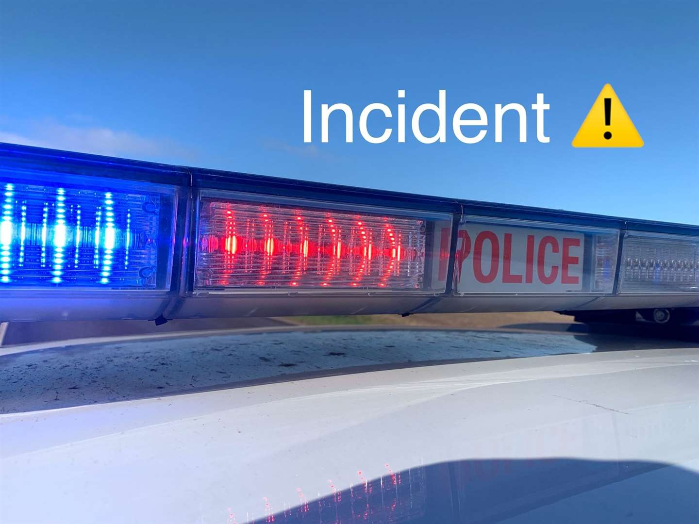 An incident has closed the westbound A47 at Lynn.
