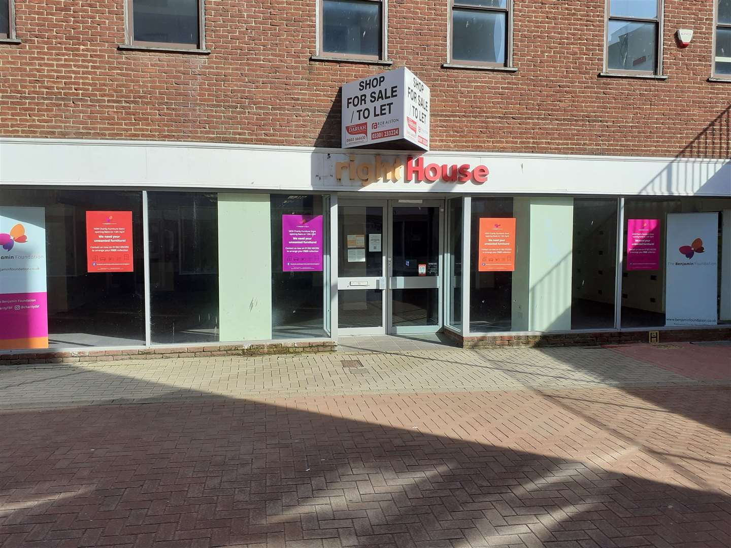The Benjamin Foundation plans to open a new furniture shop at these premises in Broad Street, Lynn (45254411)