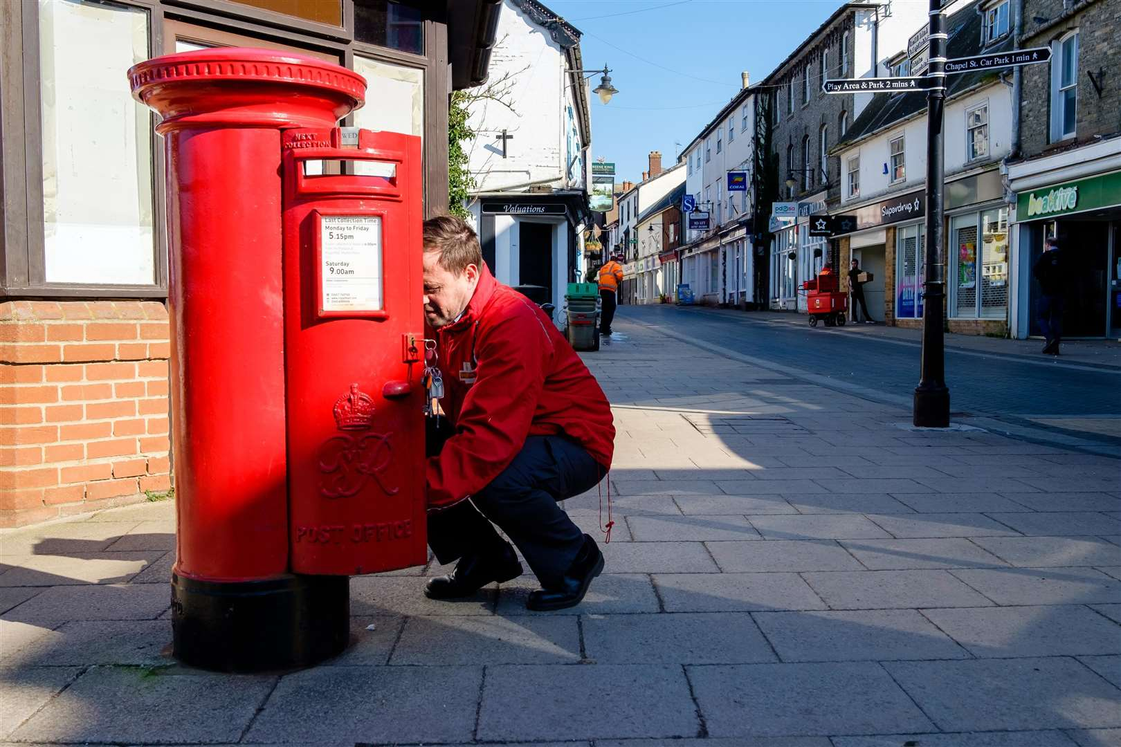 A postman at work in Norfolk. Picture: Mark Bullimore Photography