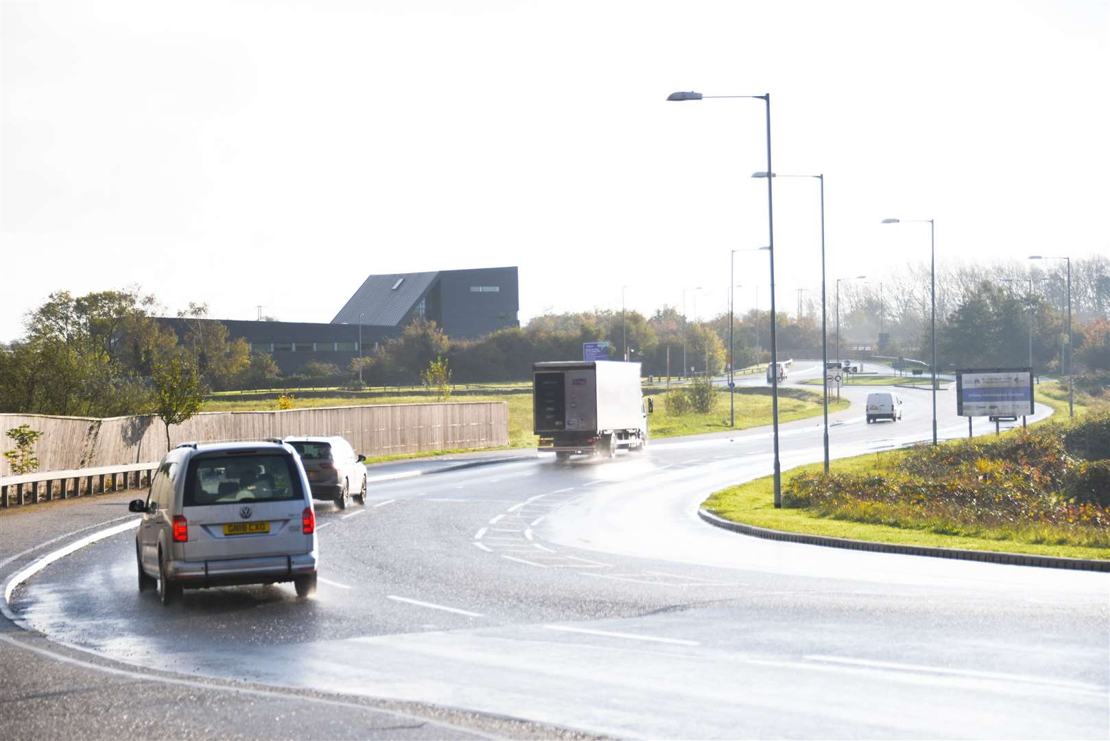 """Officials say an """"informal park and ride"""" could be developed along Lynn's Nar Ouse Way."""