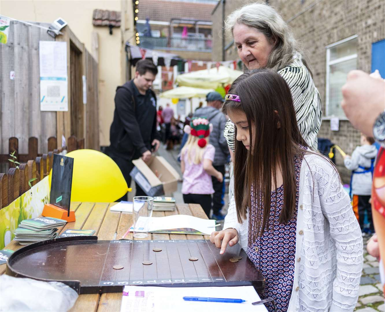 Fun and games at the Live and Let Live street party. (50743411)