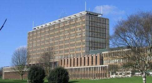 Norfolk County Council's headquarters, where calls for DIY waste recycling charges to be scrapped are set to be debated next week (40342399)