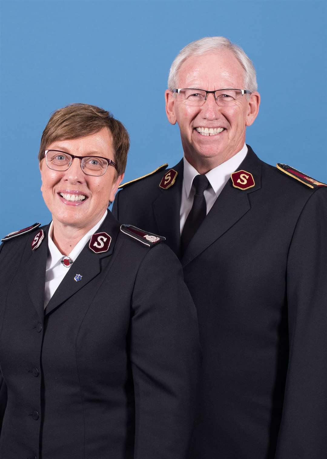 General Brian Peddle and his wife Commissioner Rosalie Peddle will be visiting The Salvation Army in Snettisham this weekend. Picture credit The Salvation Army. (51764591)