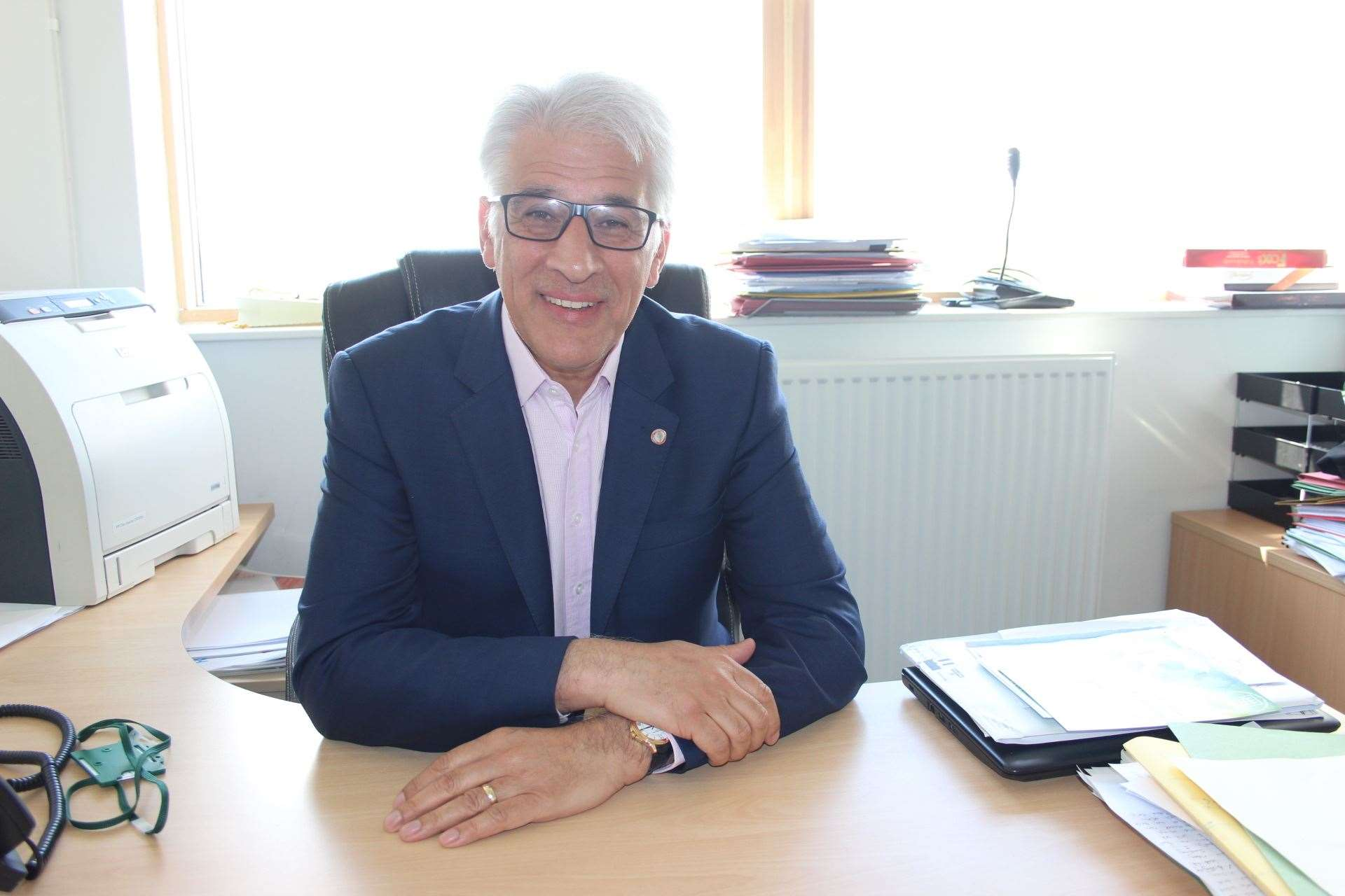 Steve Chalke, chief executive of Oasis Academy, thinks March 8 is too soon for all pupils to return