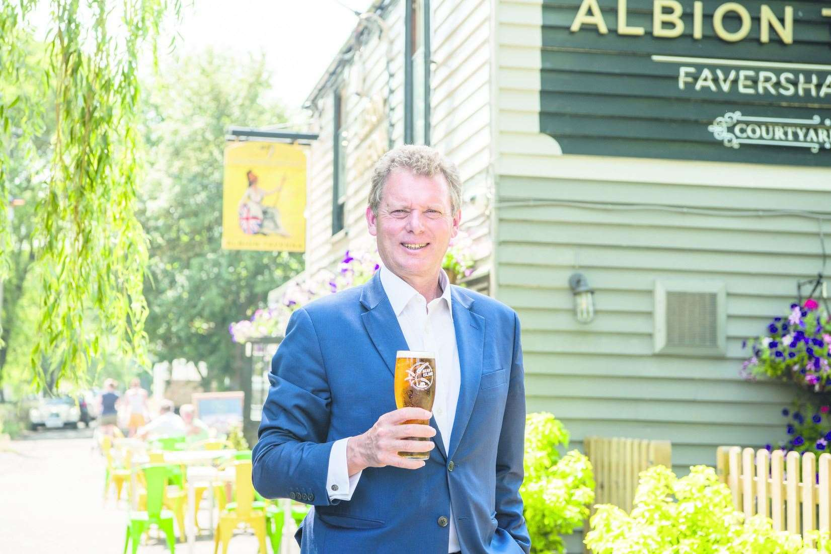 Shepherd Neame chief executive Jonathan Neame wants pubs to reopen by Easter