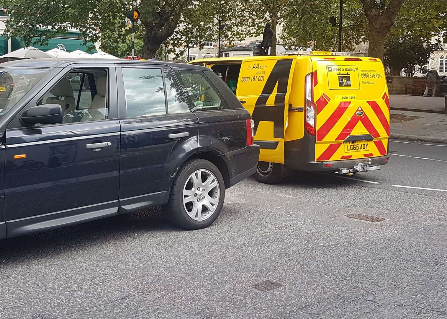 Drivers should not be tempted to pull away, says the AA, if they know they've filled up with the wrong fuel