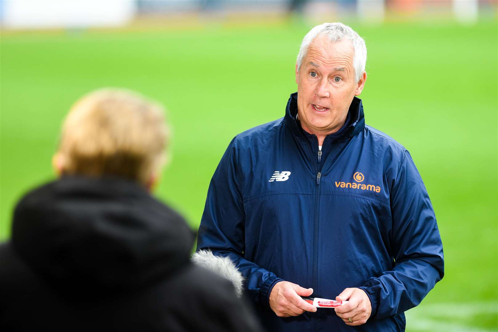"""Lynn boss Ian Culverhouse described the performance as """"weak"""" after the 5-1 defeat at Sutton United. Picture: Ian Burt"""