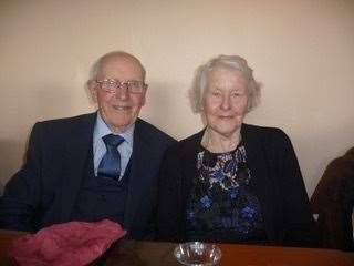Oliver and Norma Jordan on their Golden Wedding Anniversary. (44782623)