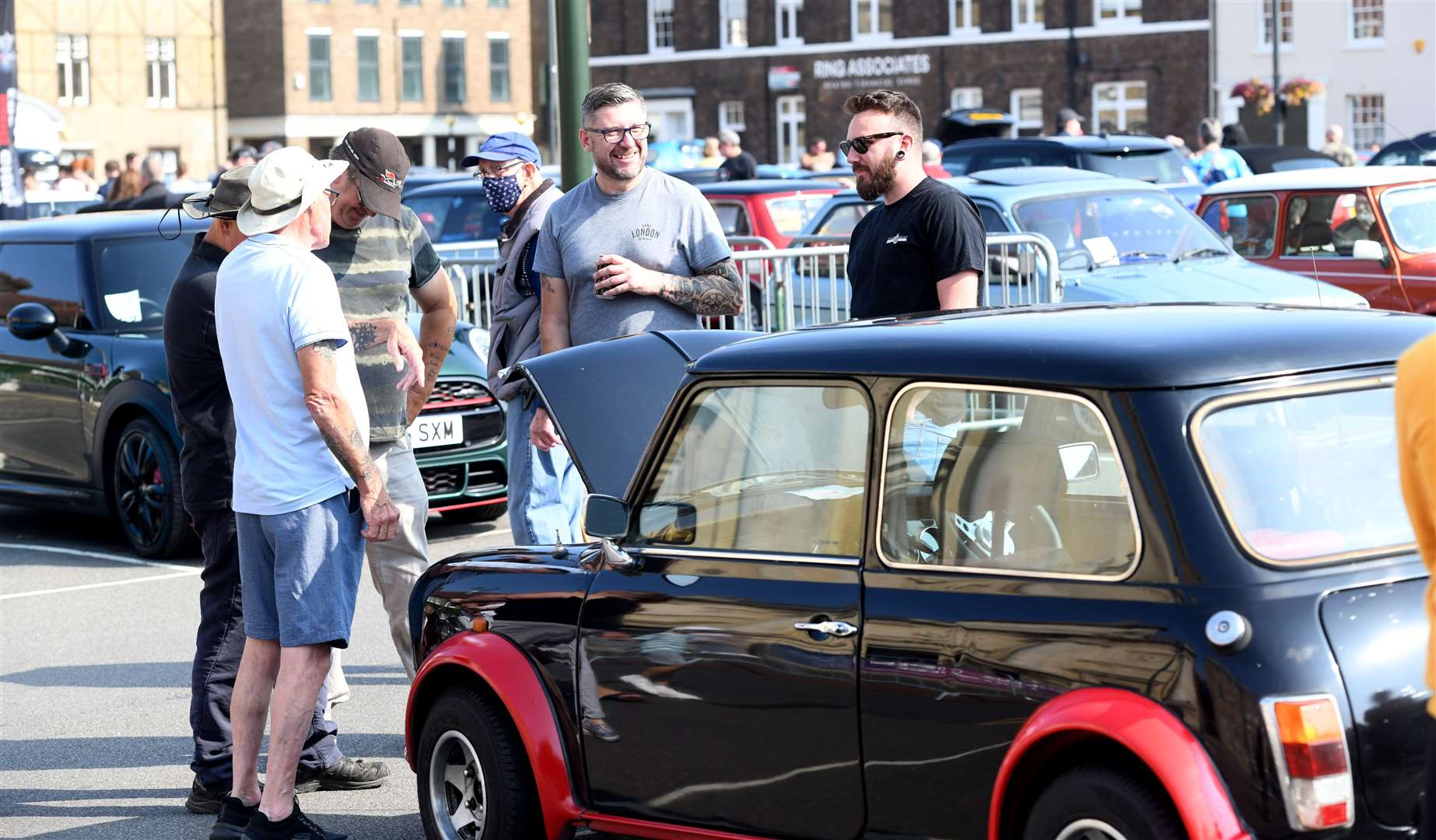 Mini Meet on the Tuesday Market Place. (50928484)