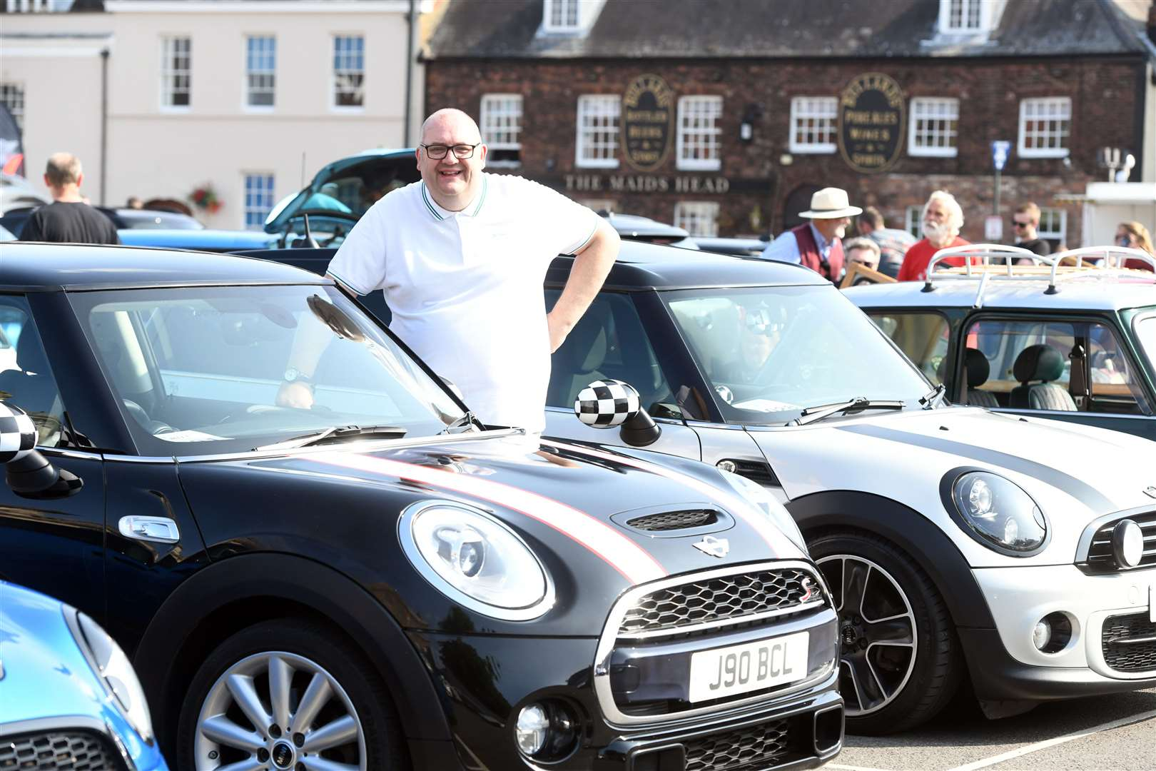 Mini Meet on the Tuesday Market Place ....Brian Long. (50928477)