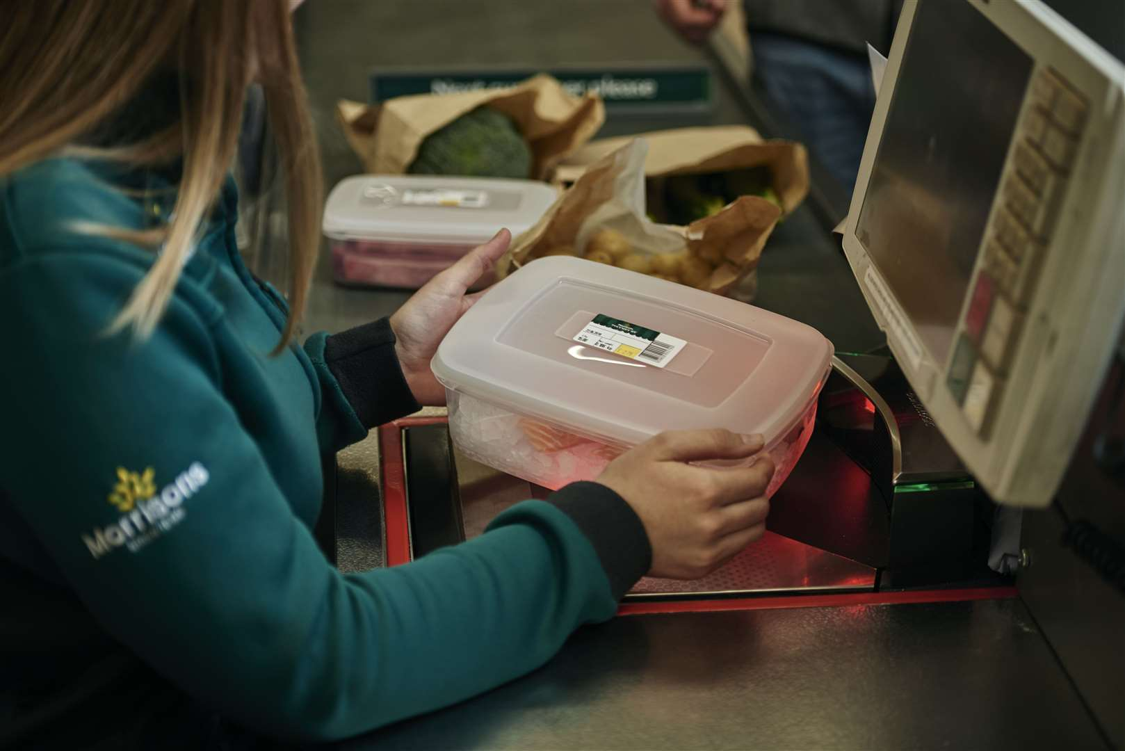 Morrisons customers who use its deli counters are asked to bring their own reusable containers