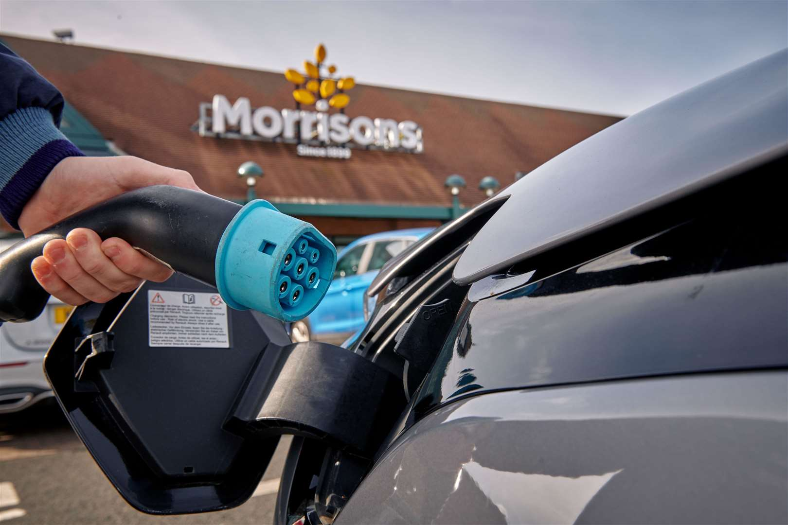 Morrisons says it is building the largest network of rapid chargers