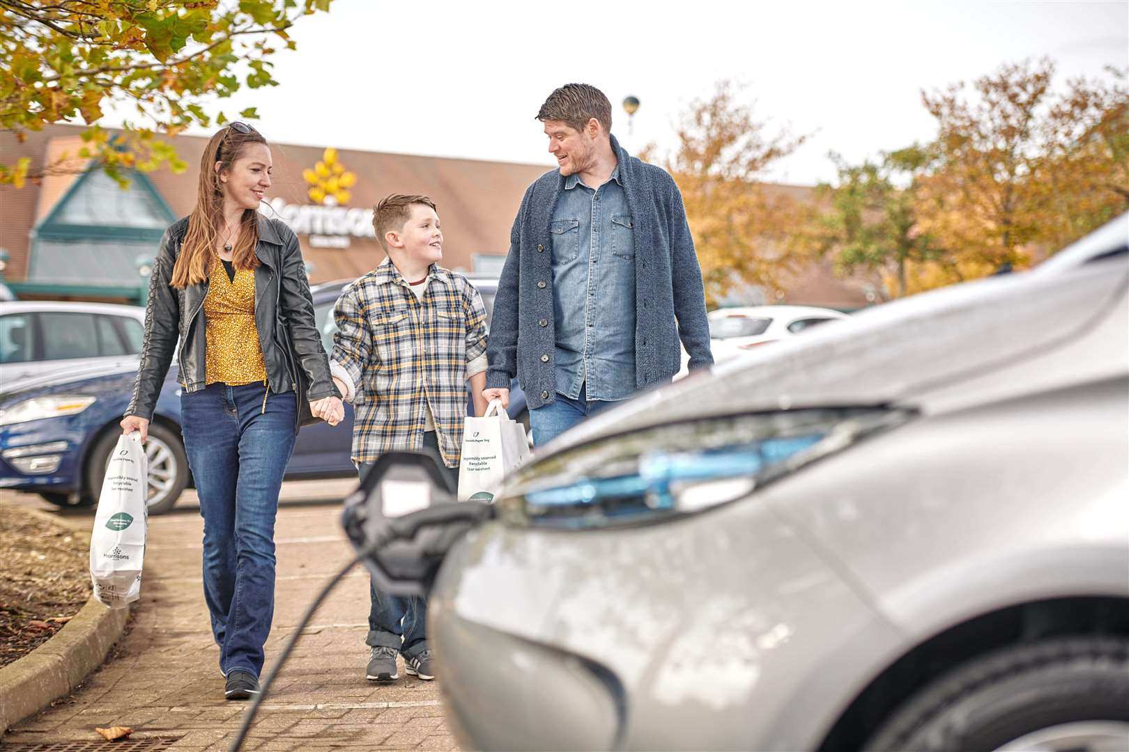 Morrisons says demand is growing for electric vehicle drivers to be able to charge while carrying out day-to-day activities