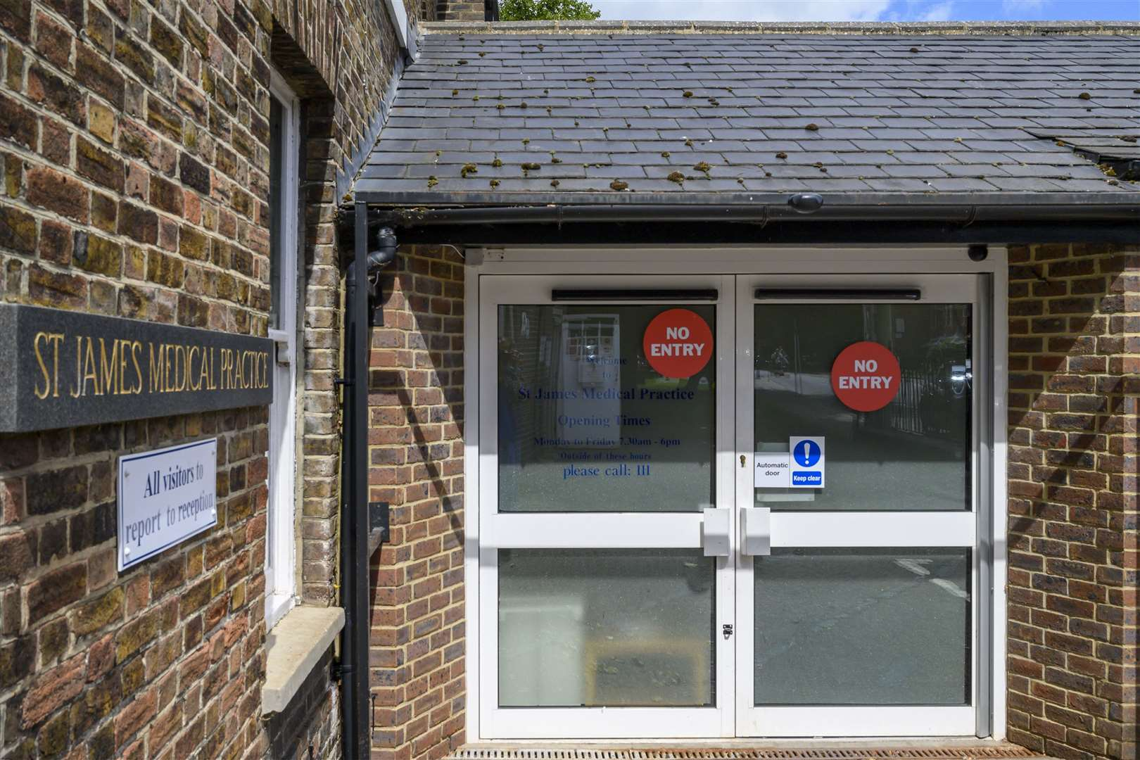St James Surgery in King's Lynn. Picture: Prabir Mitra
