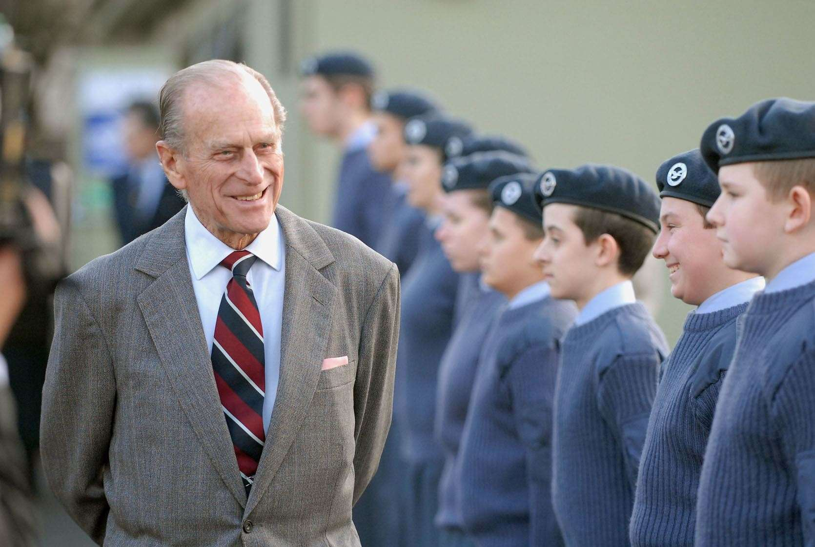 HRH Prince Philip Duke of Edinburgh celebrates his 90th year in 2011, a Lynn News Archive picture special.. (46006317)