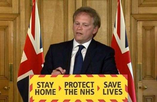 Transport secretary Grant Shapps has told people to consider not travelling home for Christmas