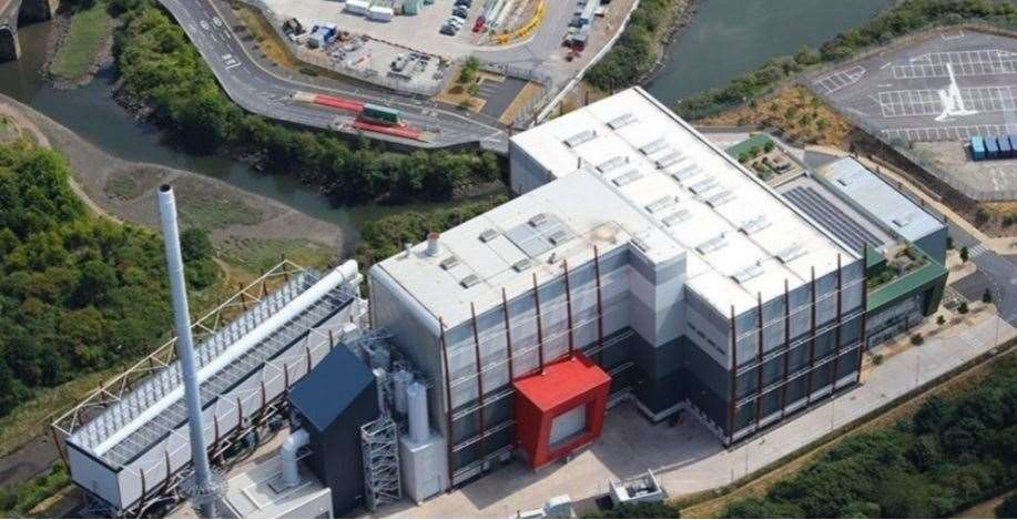A previous energy from waste project by MVV in Plymouth