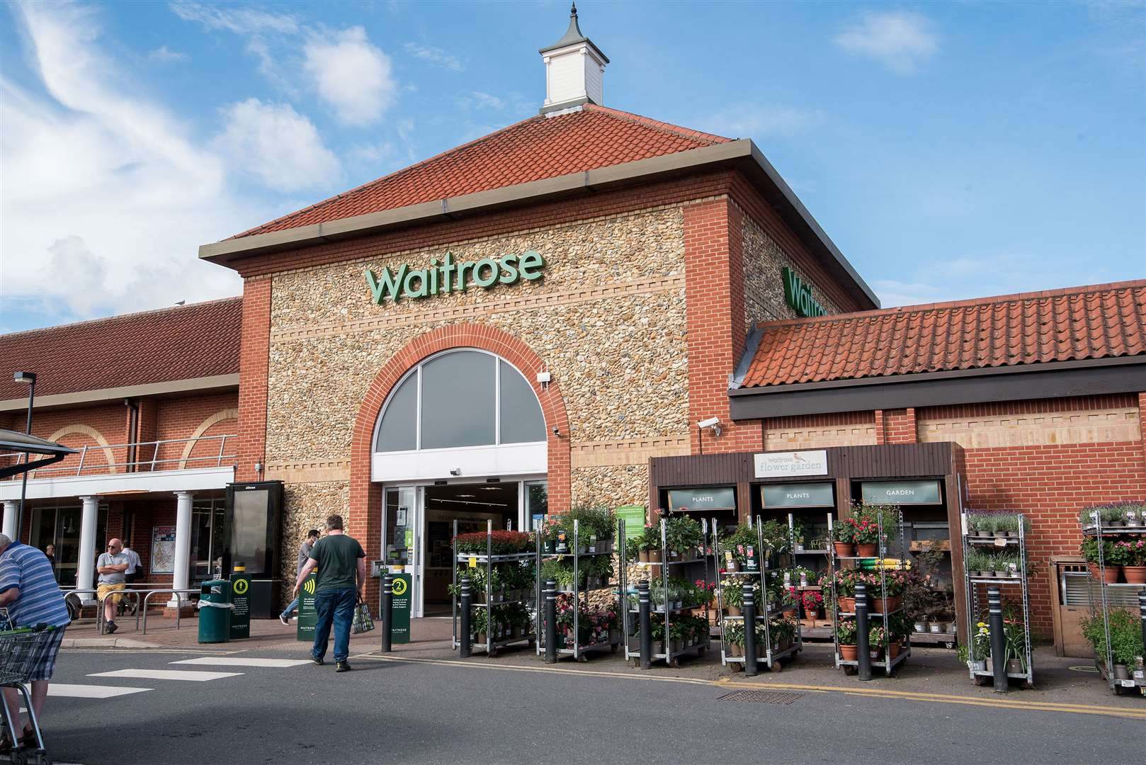Waitrose. Picture by Mark Westley