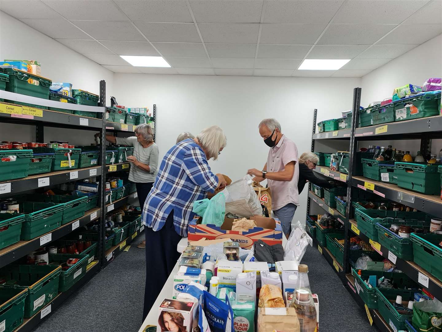 The food bank at the Eternity Centre in Downham Credit Lynn News (51766545)