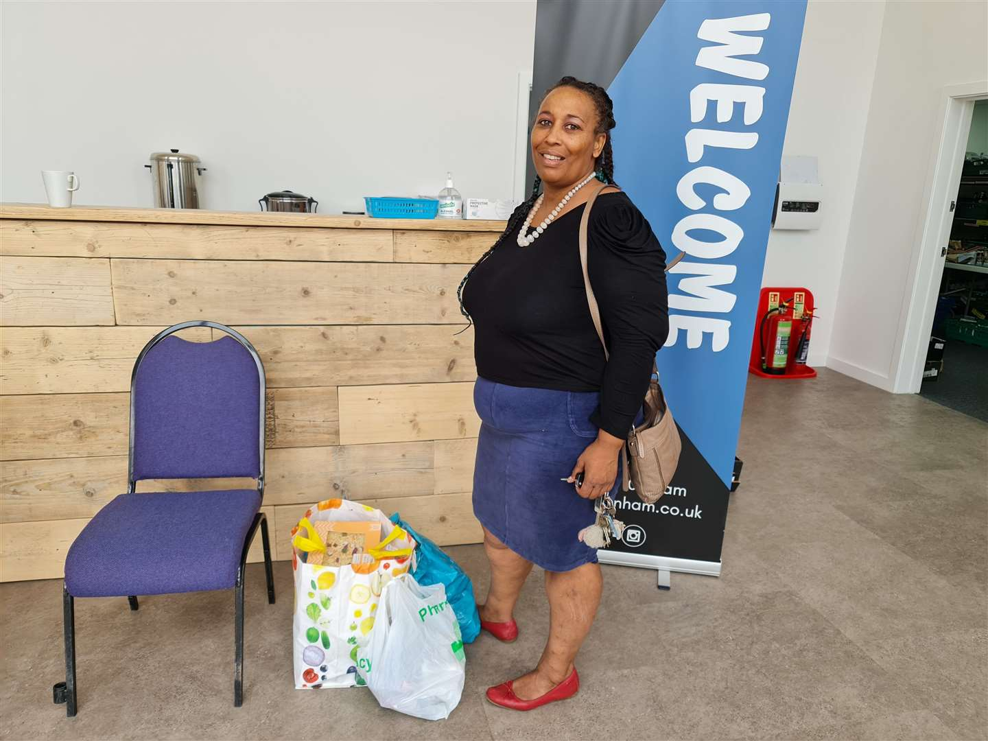The food bank at the Eternity Centre in Downham Credit Lynn News (51766548)