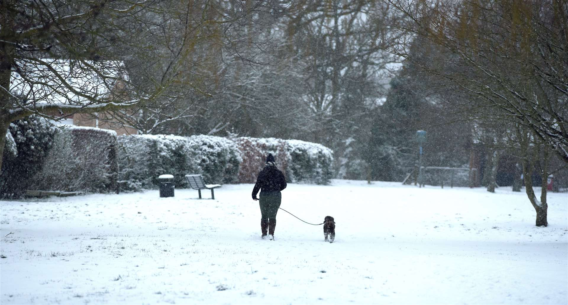 Snow Scenes from King's Lynn and West Norfolk on Monday February 8th 2021. (44303112)