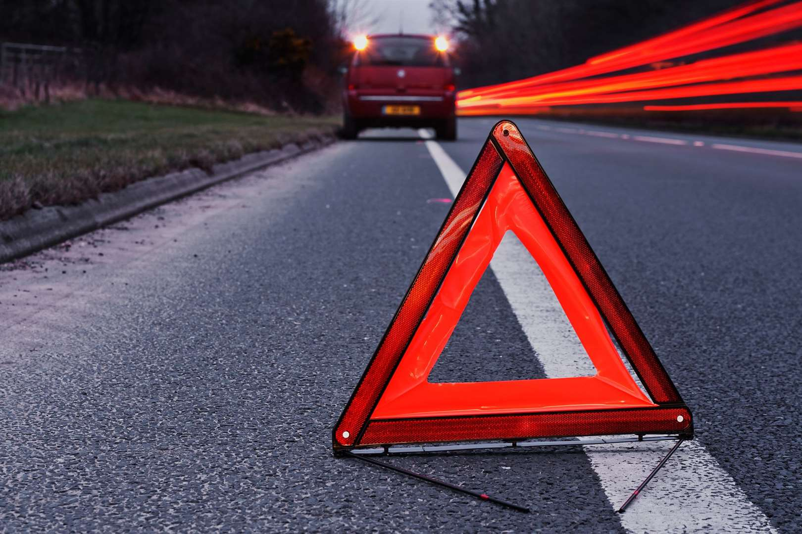 Your car will need to carry a red warning triangle in France